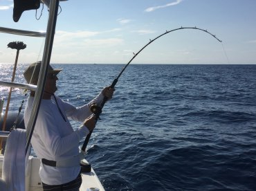 Paul on a massive Amberjack