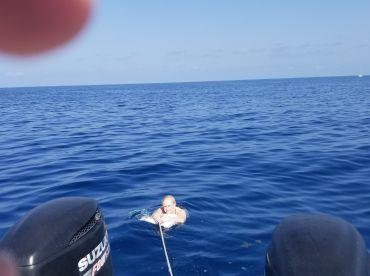 Safe cool off swim,,,awsome..