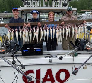 Limit in 2.5 hours with Captain Dick and First Mate Steve on CIEO'