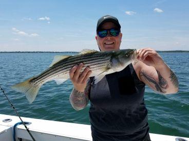 5 hour striped bass adventure