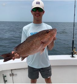 8 hr trip maxed out on Red Snapper