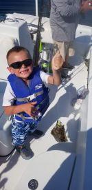 First flounder