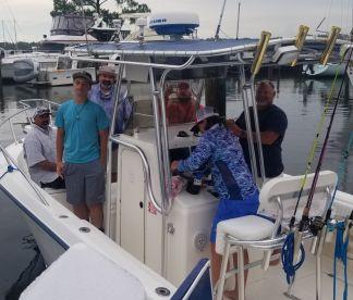 Trip with Captain Donald Ron