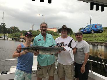 Proud fisher & Capt. Lee