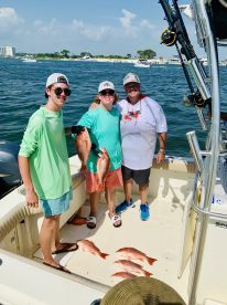 Half day Red Snapper w Capt. Randall A+++