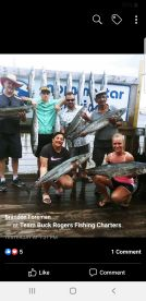 Not to bad over 100 lbs. King Mackerel.