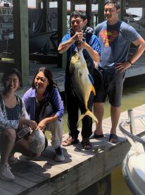 Mr.Xiao with 25lb Jack Crevalle