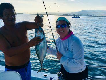 Beautiful sunrise and tuna!!