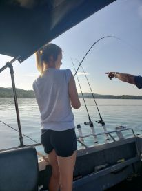 July fishing trip