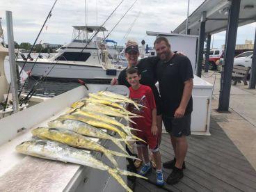 Great crew...boat full of fish!