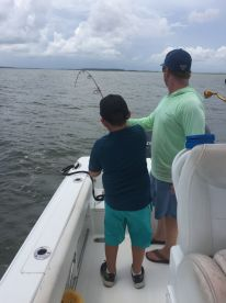 A Wonderful Day with Captain Tim and My Grandson