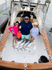 Family fishing trip paid off !