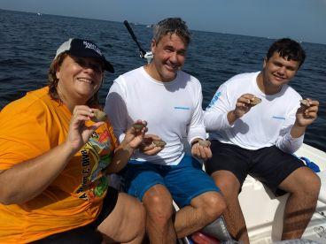 Scalloping trip with captain Don