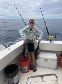 Ethan\u2019s 1st yellowfin, he had a great time, thanks