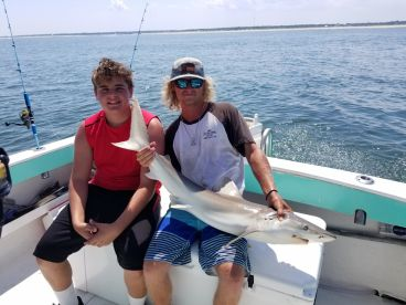 Shark Angler and Mate