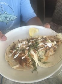 Our catch is now tacos!