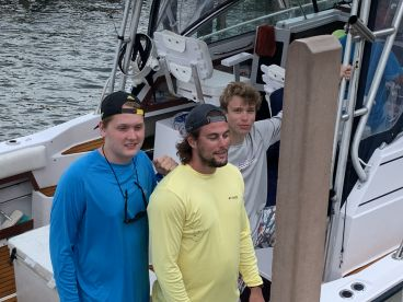 6 hr trip with captain Rudy and 1st mate mike