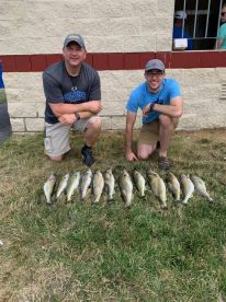 Great day of walleye fishing