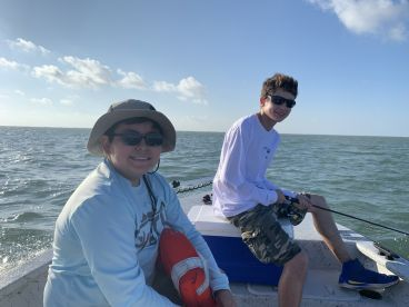 Great time on the bay