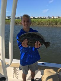 Morning inshore trip with Austin