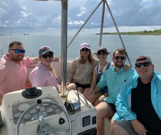 Full day trip with Captain Lee & Chris on Ocean Breeze Charters Galveston