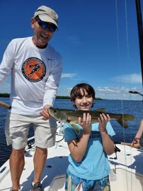 Snook action!