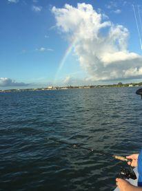 Rainow over St.Augustine Fl
