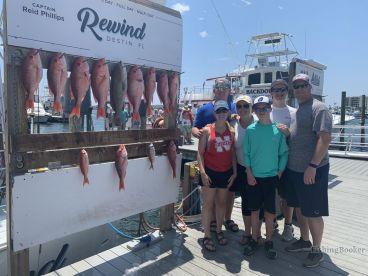 Charter Rewind fishing trip
