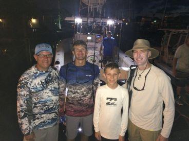Ten hour fishing tour