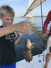 Brennan worked his tail off to put us on the fish.