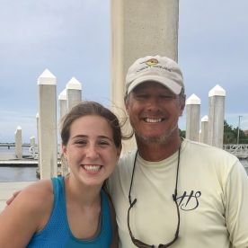 Gabbie and Captain Bill