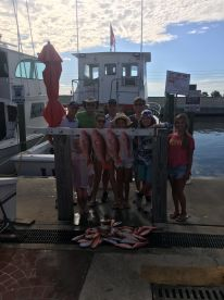 6 hour trip. Had a blast!! Capt Bob put us in the fish. Deck mate was awesome!!