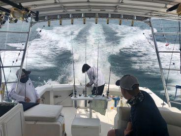 Fishing with Island Girl