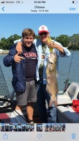 Half day catfish trip with Captain Scott