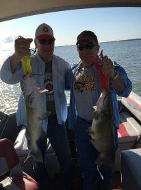 Half day catfish trip with Captain Scott