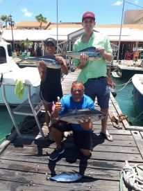 Half day trip with Capt. Juan Carlos and Eduardo