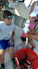 Half day fishing for grandkids
