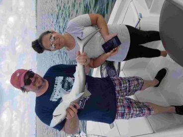 Shark fishing with Captain Caleb