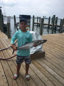 King Mackerel my Son Caught