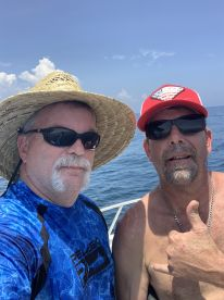 Shark fishing all day trip