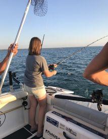 Evening Walleye trip w\/Captain Jamie
