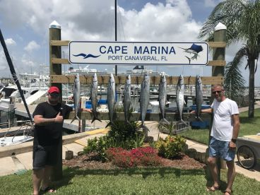 Full day with captain Alex and Danny