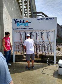 Fishing with captain Tim and Matt