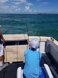 Birthday Fishin Trip for my son