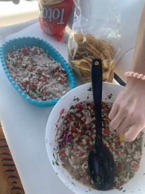 best freshest ceviche we had ever had