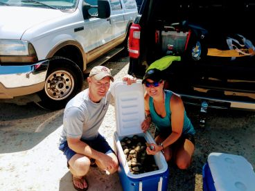 Half day scalloping with Capt Terry