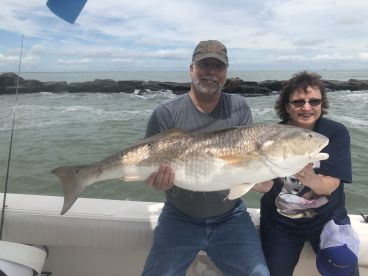 Jetty fishing with Capt Shannon