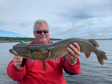 My 1st experience fishing for northern pike!
