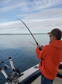 Fishing with Brad
