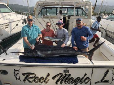 9 foot blue marlin